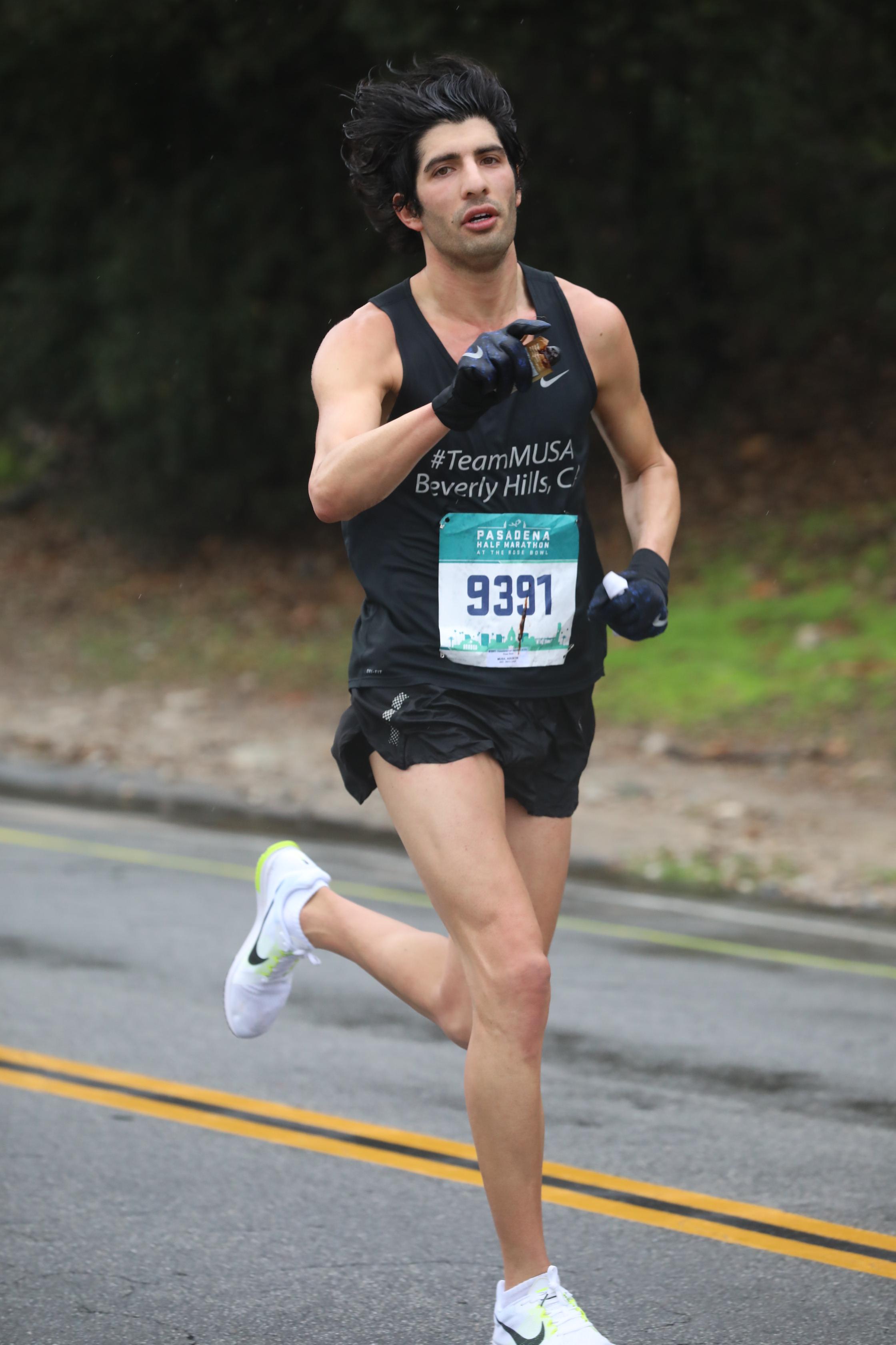 Pasadena Half Marathon AI Servo