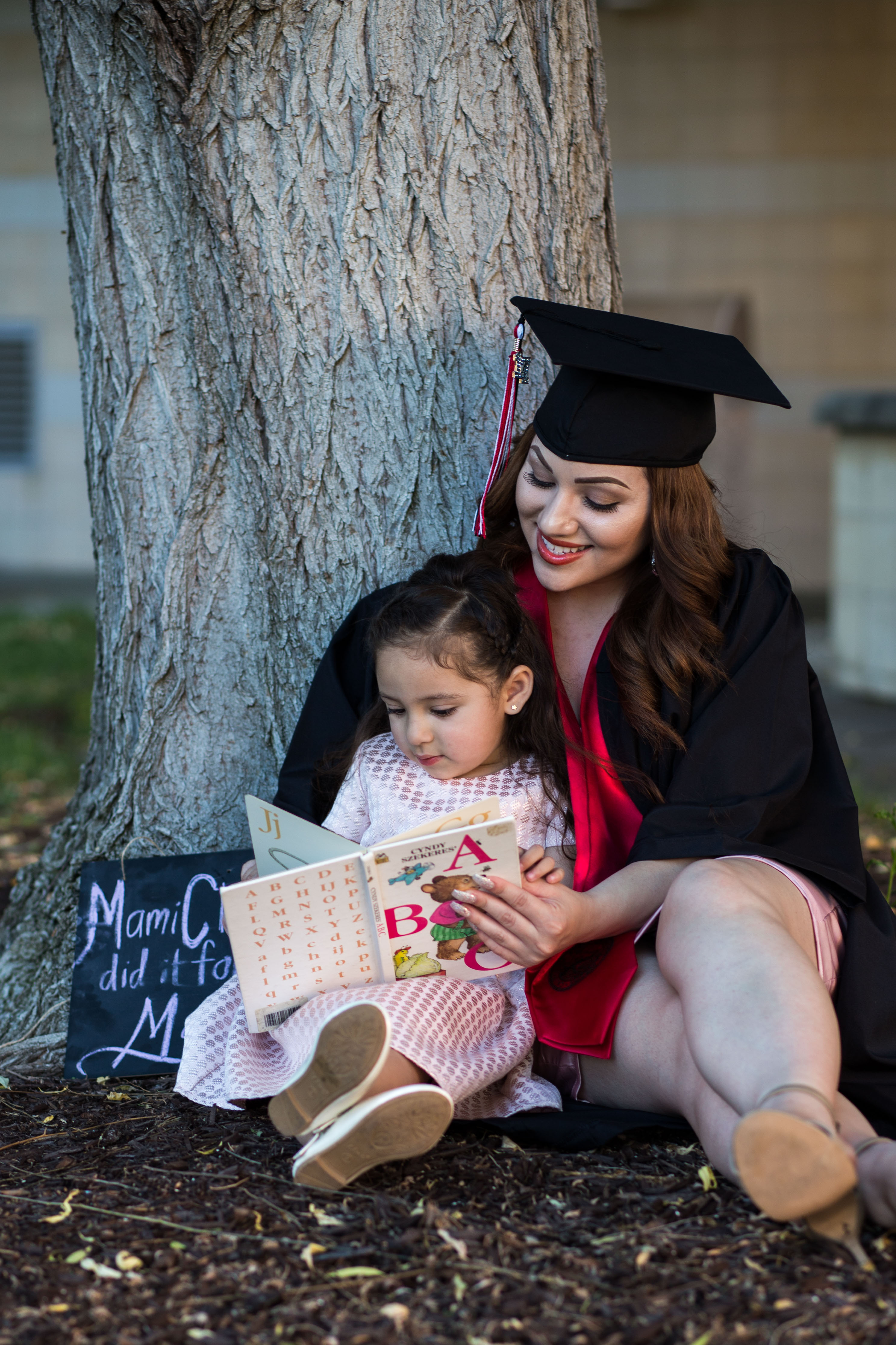 Cal State East Bay Graduation Picture